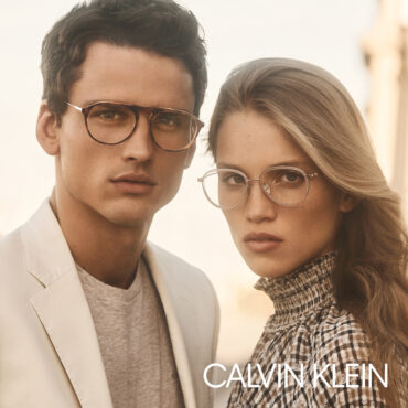Calvin Klein optische brillen monturen man en vrouw