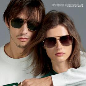 Lacoste zonnebrillen man en vrouw